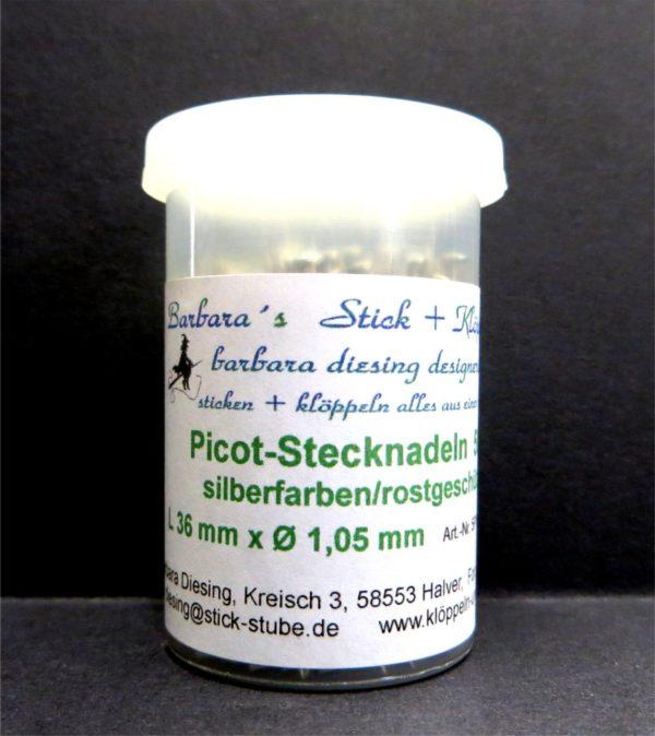 Picot-Stecknadeln 36 x 1,05 mm