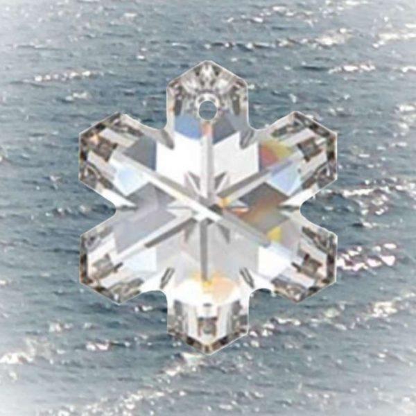 Kristall Schneeflocke