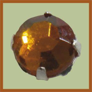 Aufnähkristall