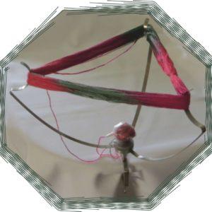 Dreiarm-Garnhaspel